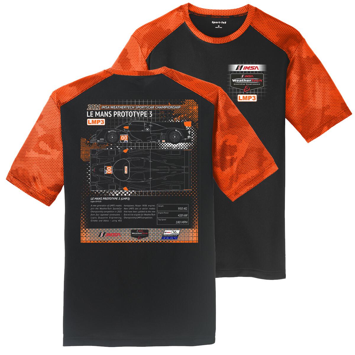 LMP3 Tech T-Black/Orange