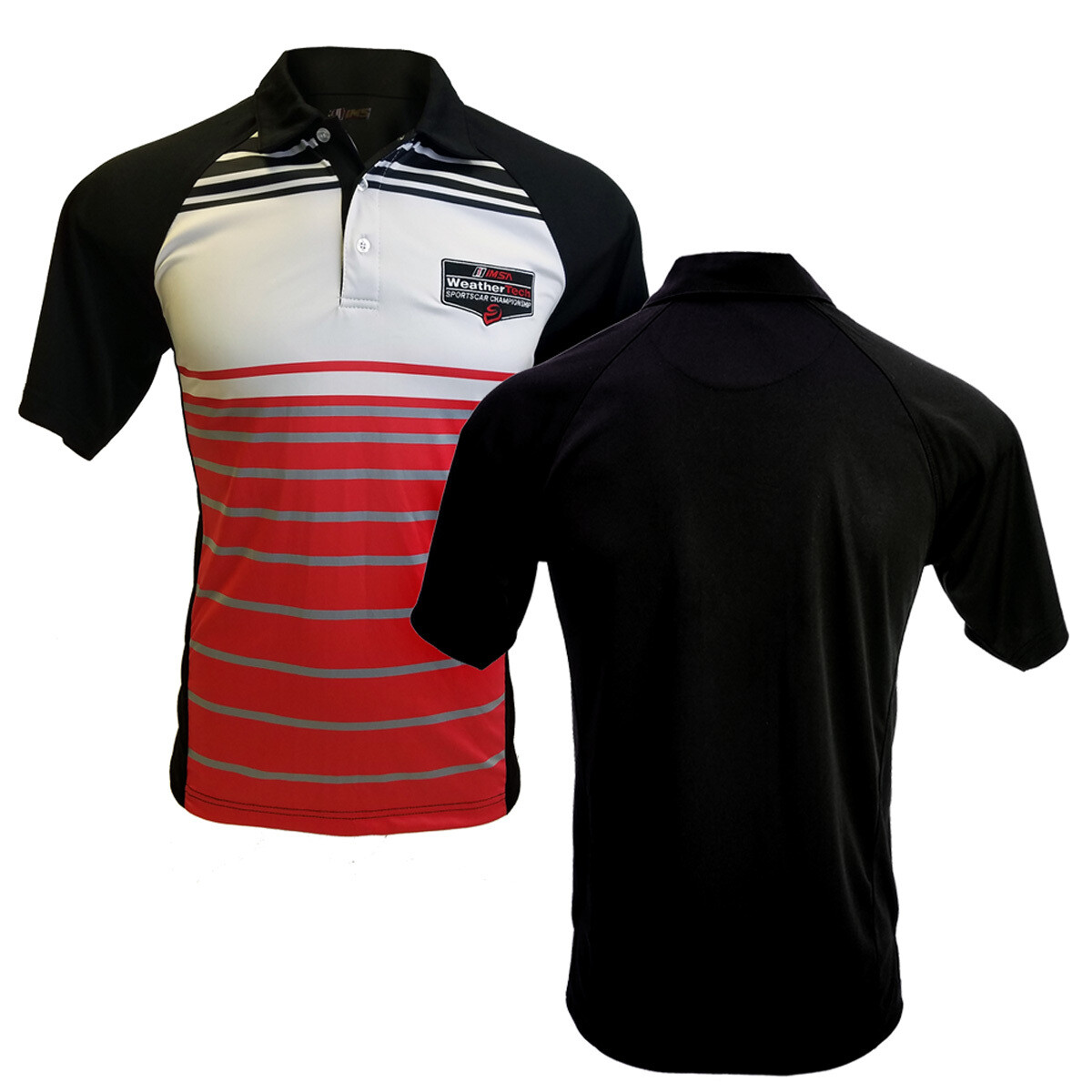 WeatherTech Polo - Red/Black/White