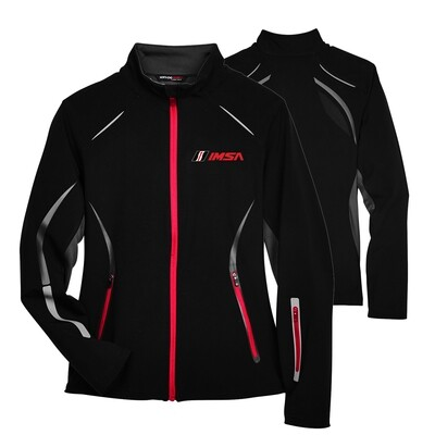 IMSA Ladies Pursuit Jacket-Blk/Red/Silver