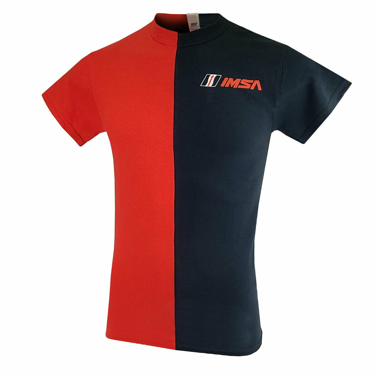 IMSA Split Tee-Red/Blk