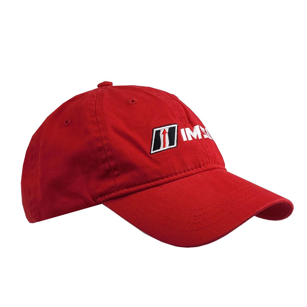 IMSA Slouch Hat - Red