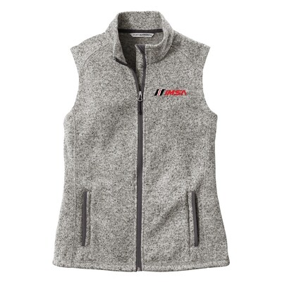 Ladies Vest-Grey Heather