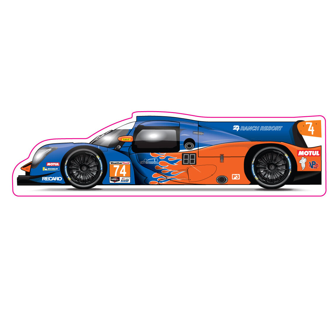 Decal - Riley MotorSports