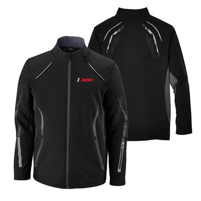 Noth End Men's Pursuit Jacket - Black/Silver