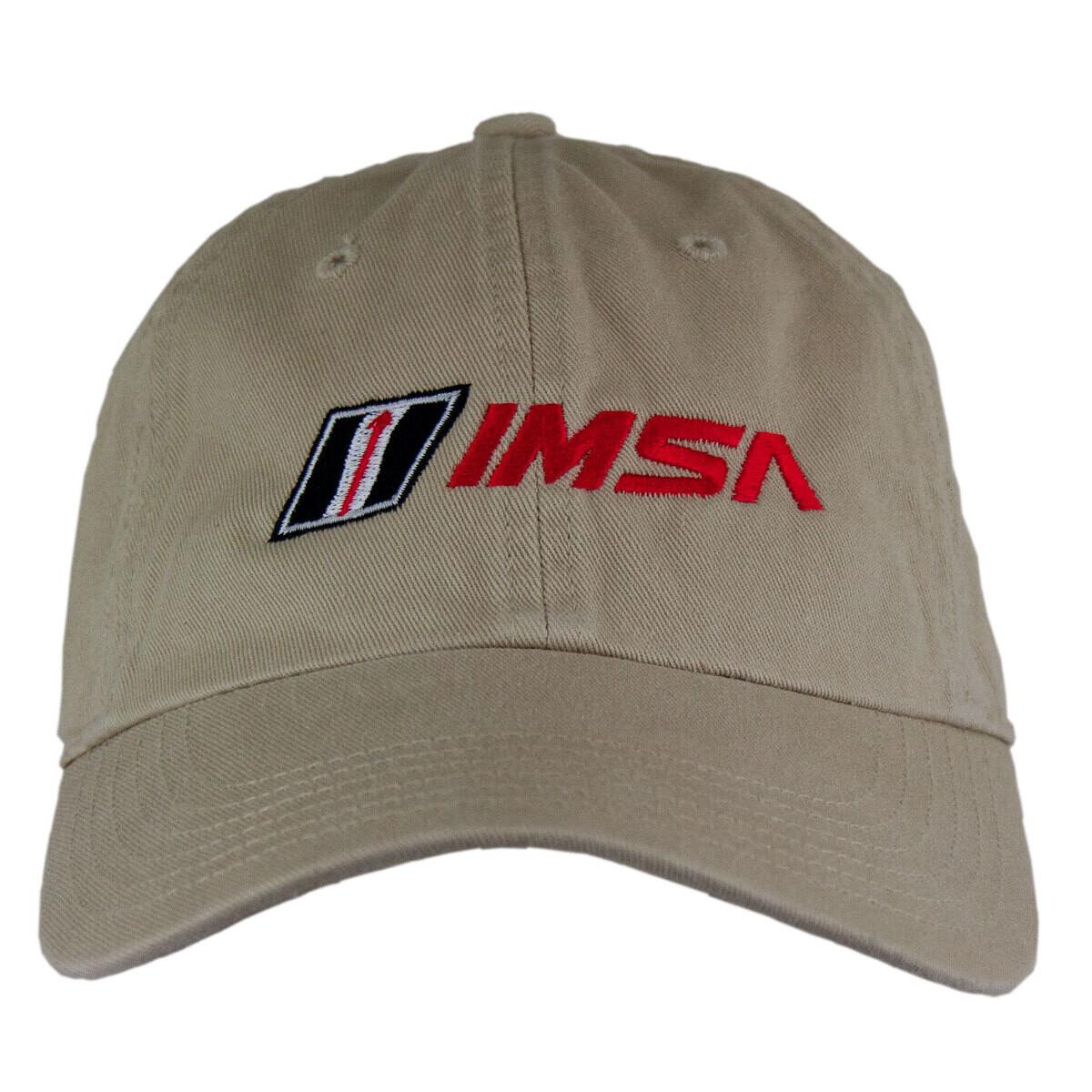 IMSA Dad Washed Hat - Stone