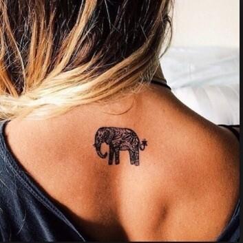 Elephant Tattoo Design!!!!NEW By Popular Demand