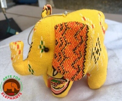 SOLD OUT Holiday Tribal Stuffed Ornament, Hand Made (1) HURRY THEY SELL OUT FAST