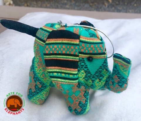 Tribal Stuffed Elephant, Hand Made (set of 3) HURRY! THEY SELL OUT!