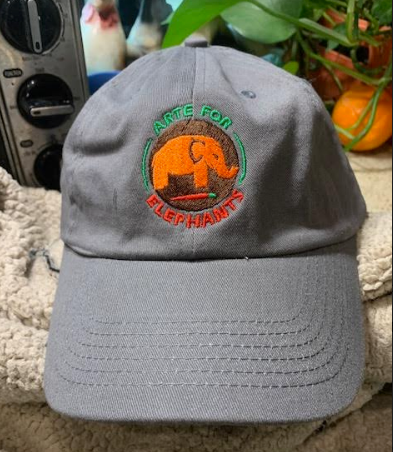 NEW! Fantastic Arte for Elephants Baseball Hats