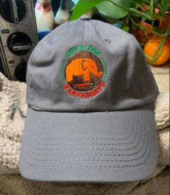 NEW! Fantastic Arte for Elephants Baseball Hats