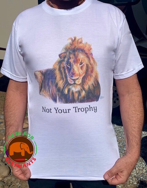 NEW! NOT YOUR TROPHY T-Shirt