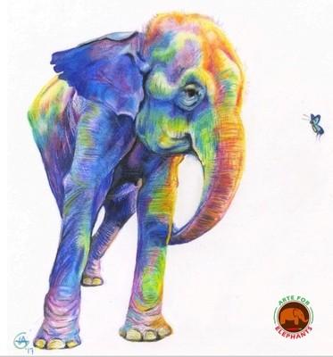 Rainbow Guida- Large Fine Art Print