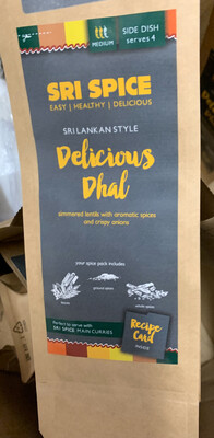 Curry Kit - Side - Delicious Dhal