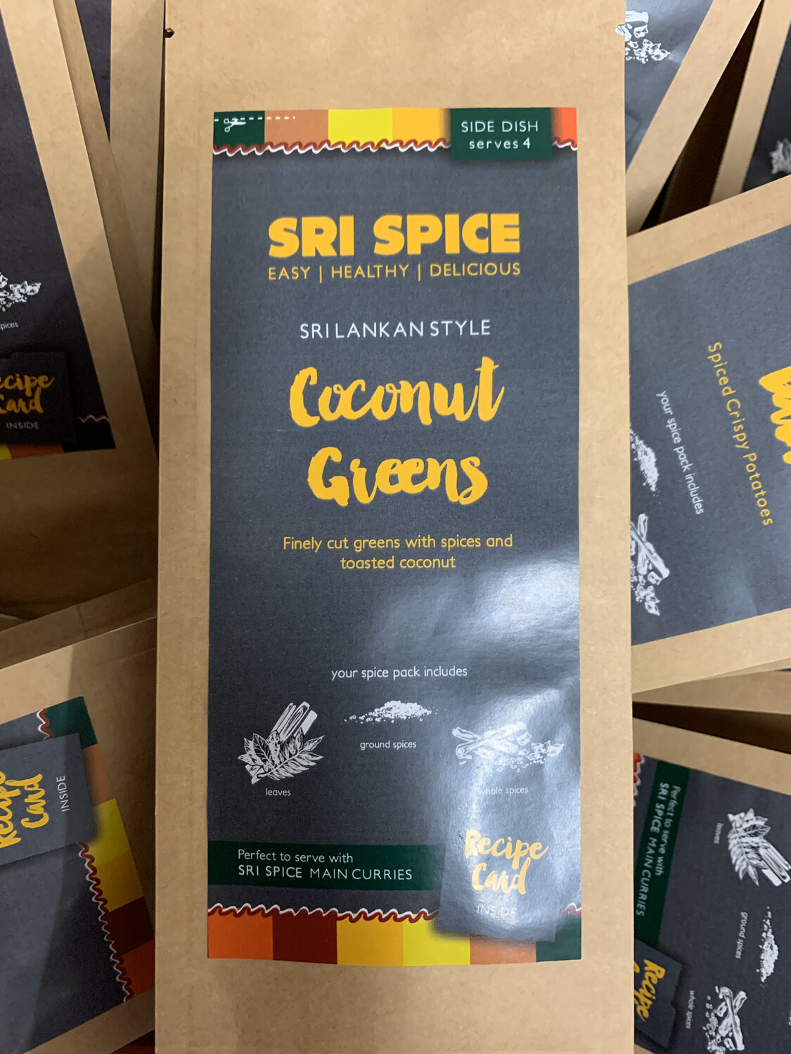 Curry Kit - Side - Coconut Greens