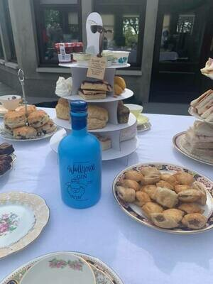 Afternoon Tea for 4 with 1 bottle of gin