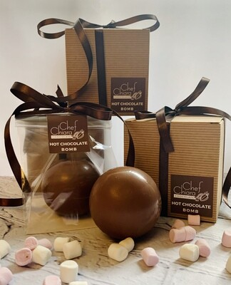 Boxed Hot Chocolate Bomb