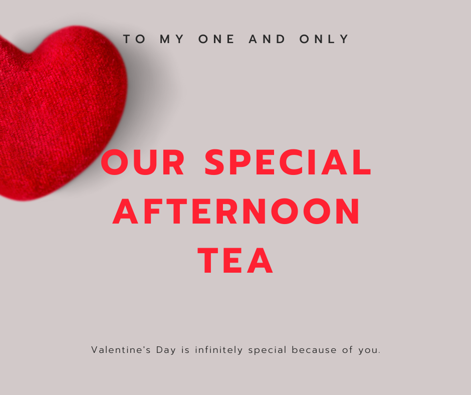 Valentine's Afternoon Tea- Per Person