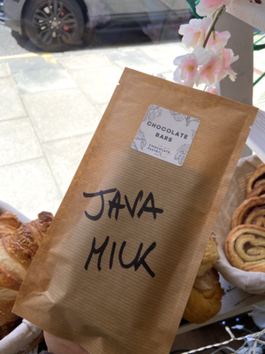 Java milk chocolate bar - 80gr