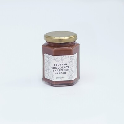Belgian chocolate and hazelnut spread