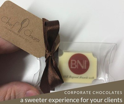 Branded single chocolate