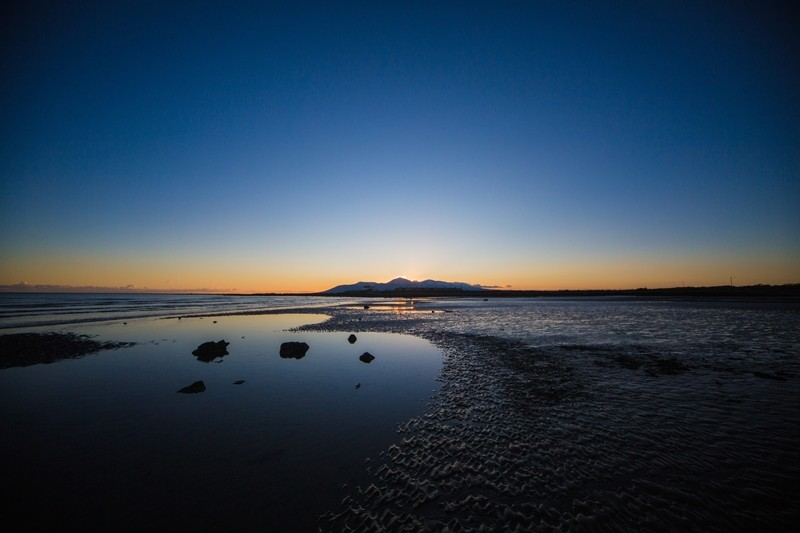 Tyrella Beach at sunset, Co.Down, N.Ireland