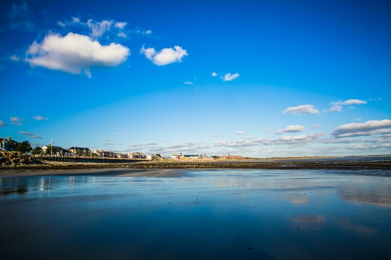 Newcastle beach, Co.Down, N.Ireland  