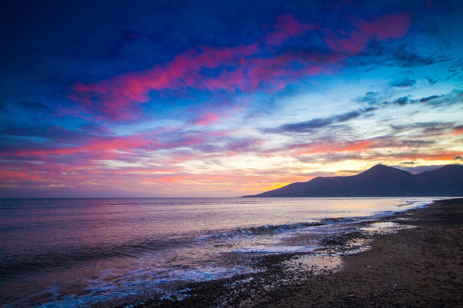 Keel Point at Sunset, County Down, N.Ireland