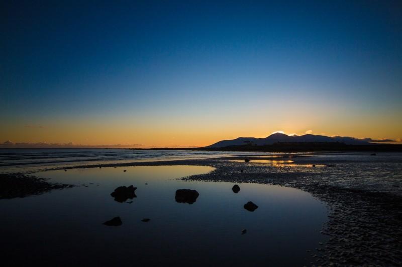 Tyrella Beach at Sunset, Co.Down, Northern Ireland