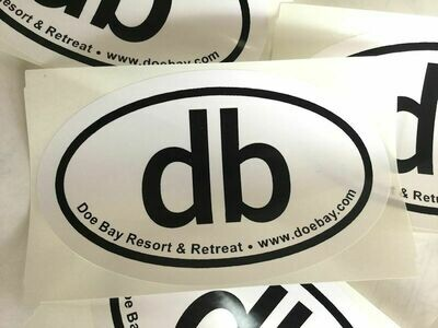db Logo Sticker