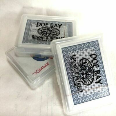 Card Deck Housed in DB Logo Card Holder