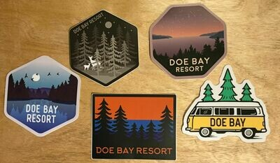 Doe Bay Sticker Collection