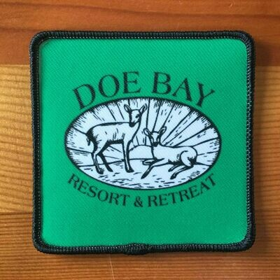 Doe Bay Classic Logo Patch