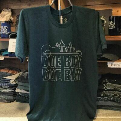 NEW Doe Bay, Doe Bay Logo T - Forest Green