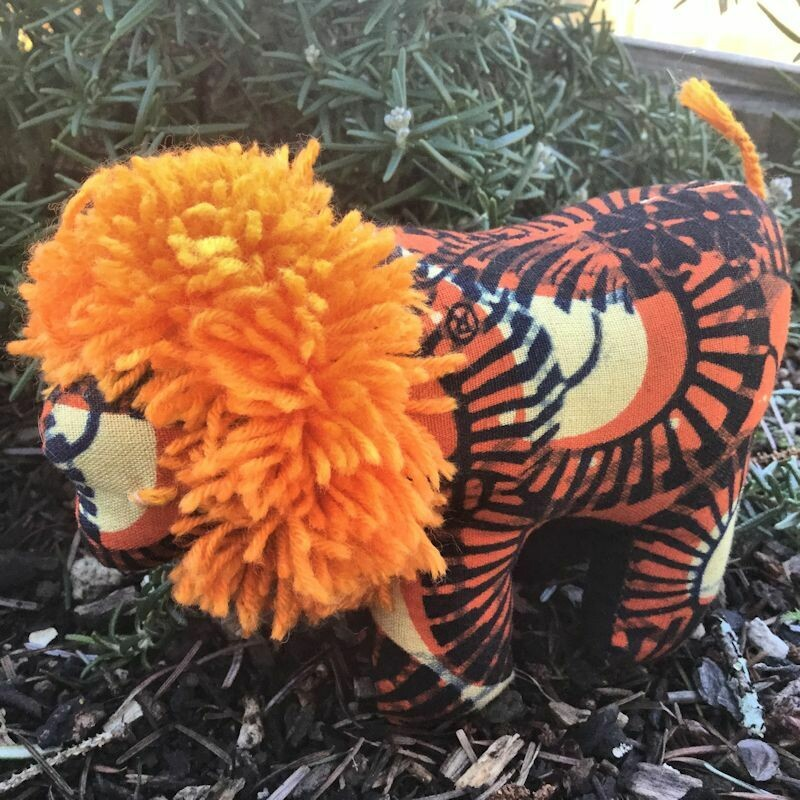 Stuffed animal - lion
