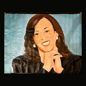 Original Oil Painting - Kamala Harris