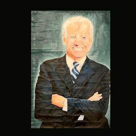 Original Oil Painting - Joe Biden