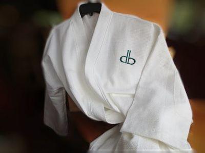 DB Textured Cotton Robe