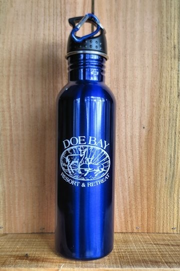 Doe Bay Resort & Retreat Water Bottle
