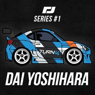 Torque Drift Series #1 Pins - Daijiro Yoshihara