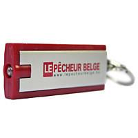 """Porte-clés """"Le Pêcheur Belge"""" avec lampe LED"""