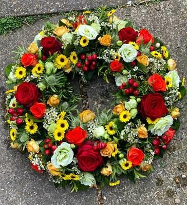 Everlasting love wreath