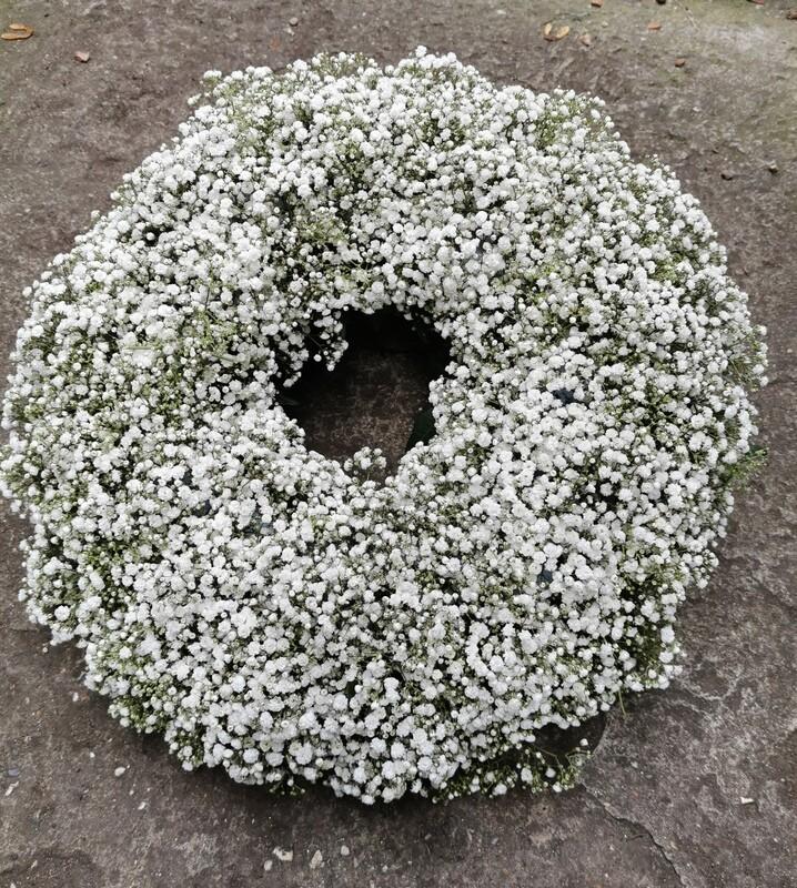 Gypsophilla Wreath