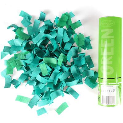 Хлопушка (зеленое конфетти) 20см