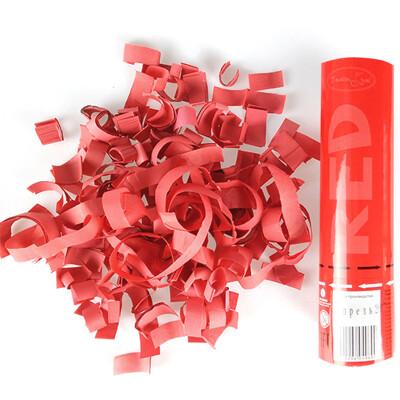 Хлопушка (красное конфетти) 20см