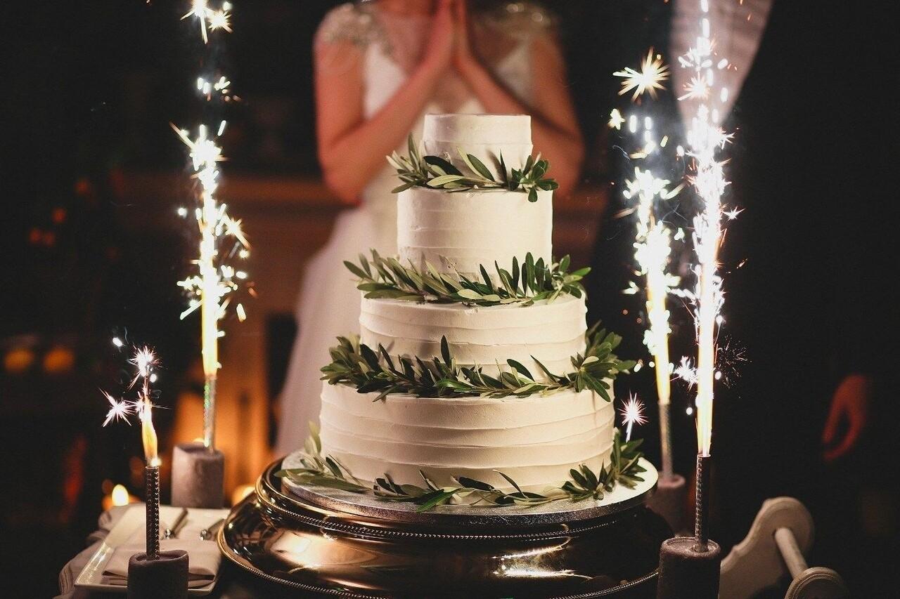 Фонтан в торт (12см)