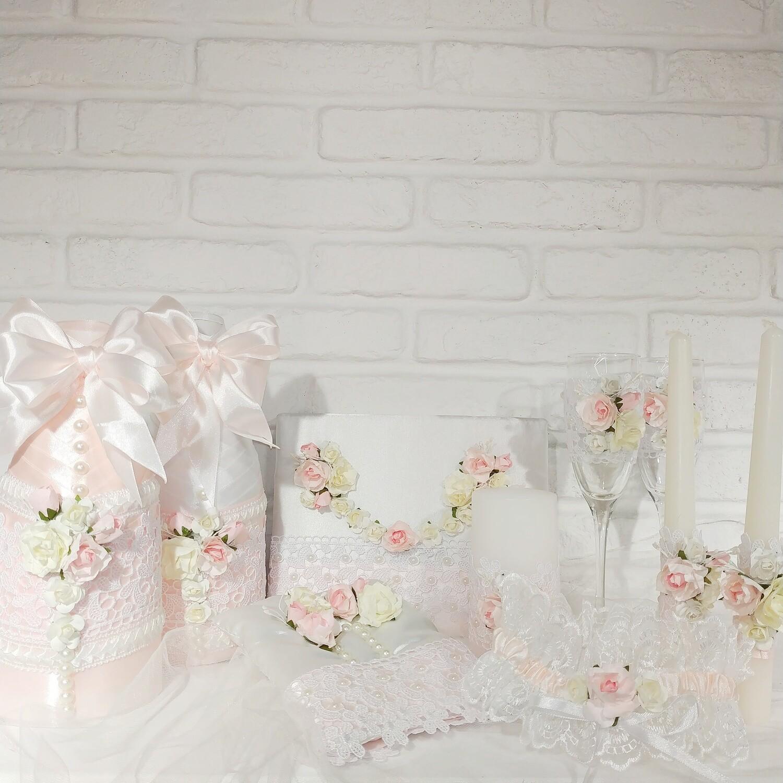 """Свадебный набор """"Нежность"""""""