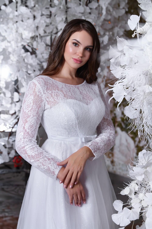 """Свадебное платье """"Адениум"""""""
