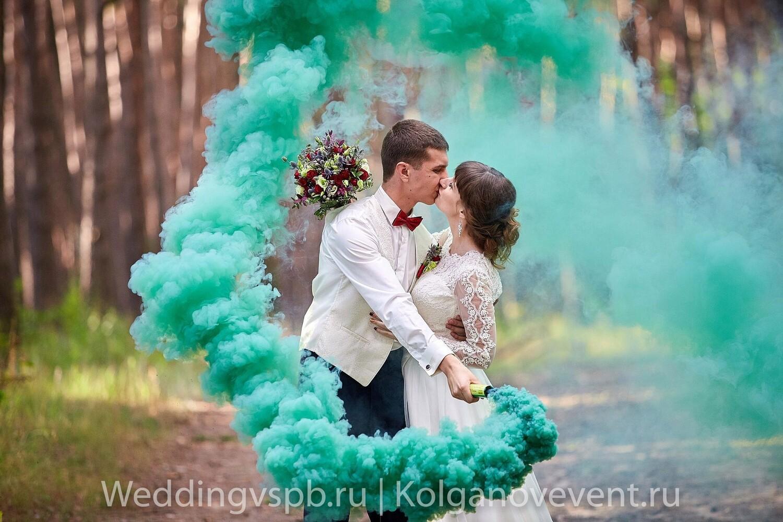 Дым цветной (зеленый)