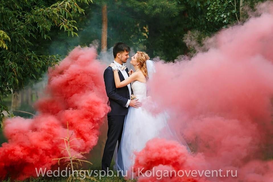 Дым цветной (красный)
