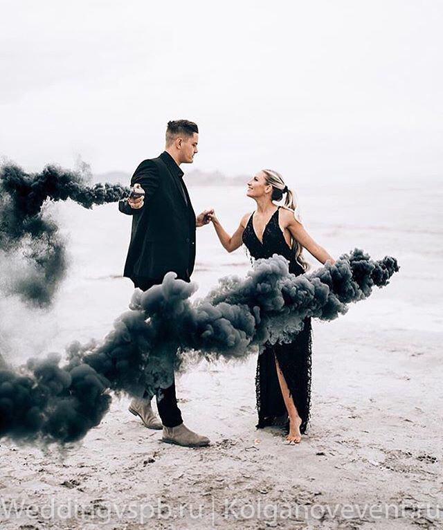 Дым цветной (черный)